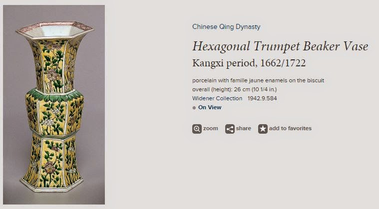 "<img src=""Kangxi Trumpet vase .jpg"" alt="" Famille Jaune on Biscuit"">"