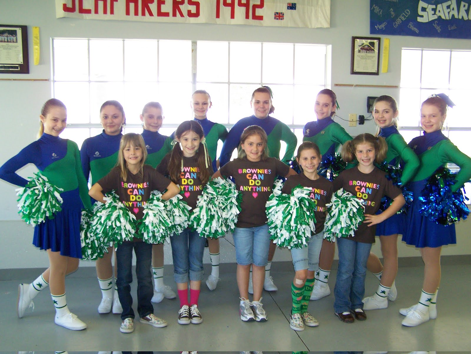 girl scouts of san jacinto council blog girls get fit and