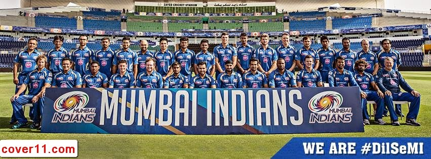 Mumbai Indians Latest Facebook Covers 2014
