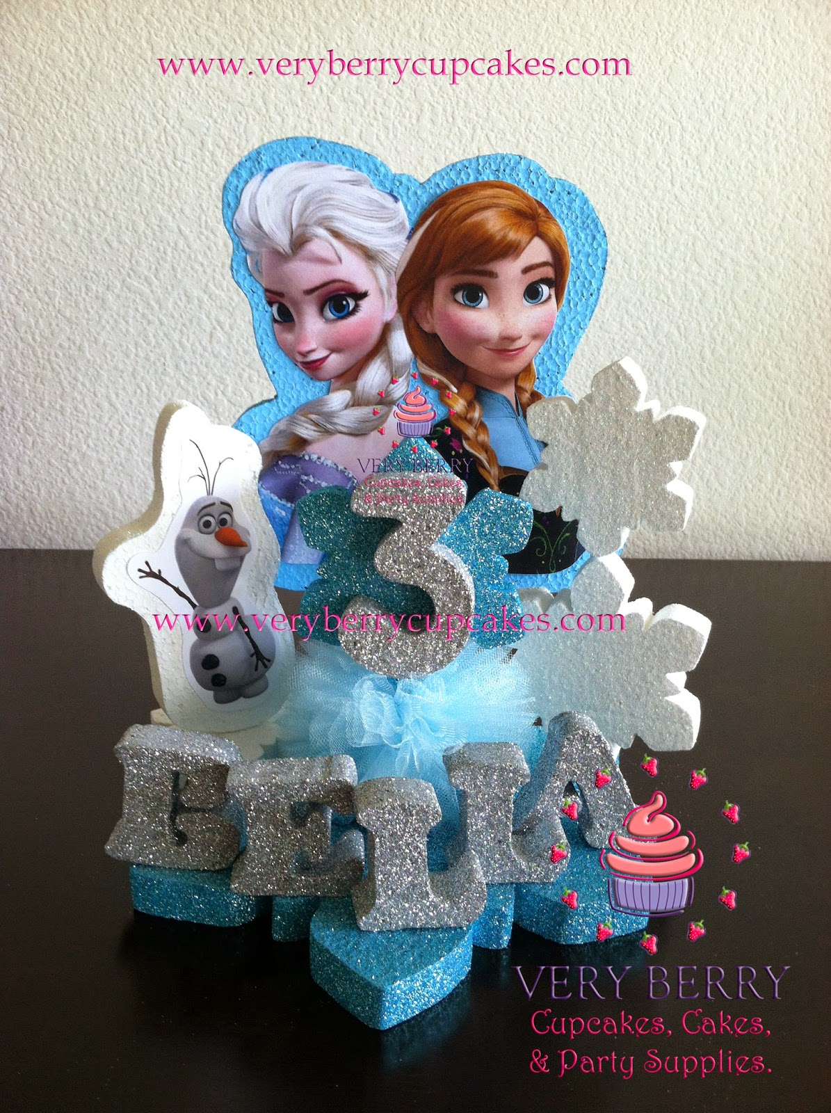 Veryberry Cupcakes: Frozen Cake toppers,Frozen Princess ...