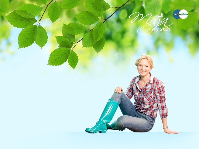 Maja - przyjaciółka ogrodów naturalnych ;-)