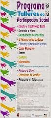 PROGRAMA DE TALLERES PARTICIPACIÓN SOCIAL ARCOS 2014