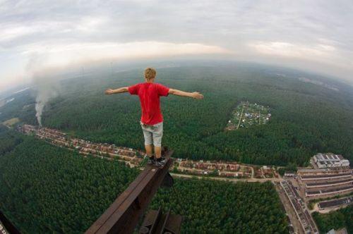 gambar ngeri tempat tinggi