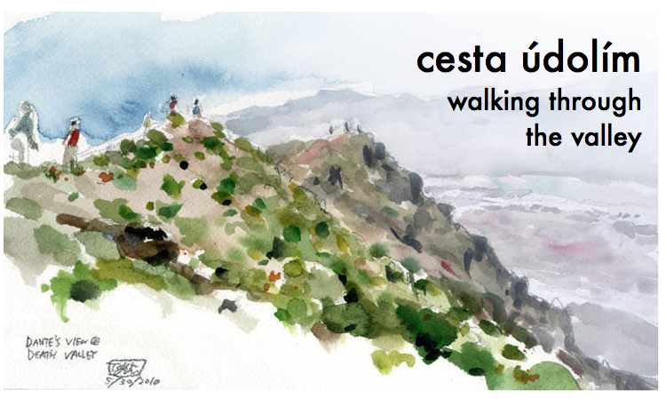 cesta údolím :: walking through the valley