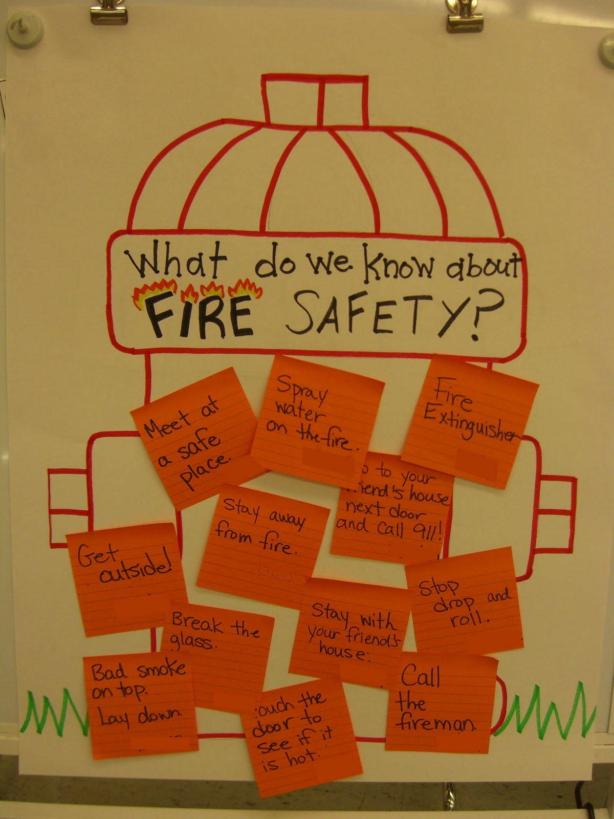 First Grade Garden Fire Safety Week – Kindergarten Fire Safety Worksheets