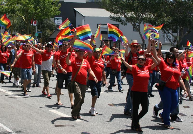 LGBT Pride LA Parade 2012