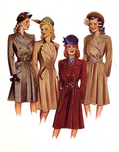 post war fashion today 40s fashion