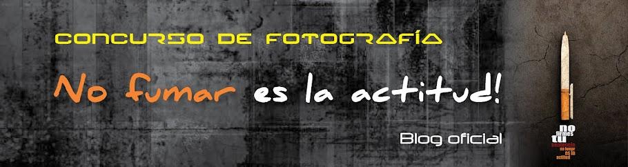 """Concurso de fotografía """"No fumar es la actitud"""""""