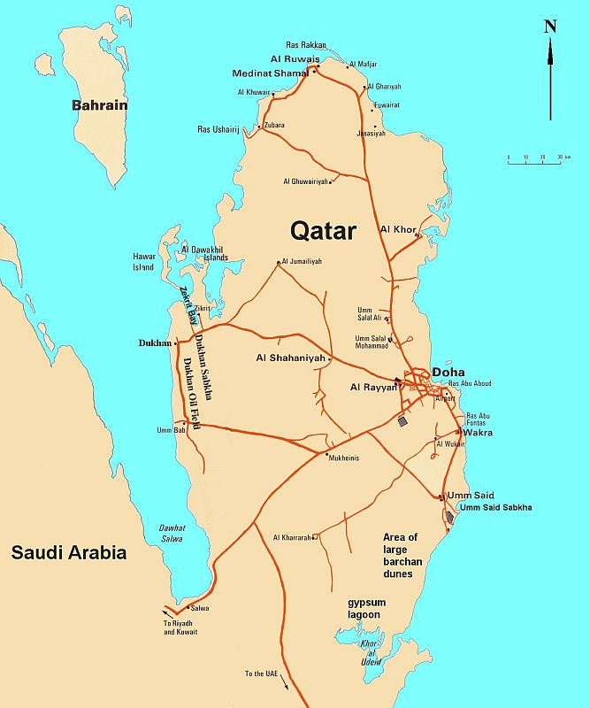 Around The World With Uncle Moose QatarDay - Where is qatar