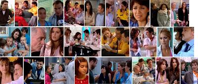 Fotogramas de escenas de Hospital Central - Elisa y Santiago, Vero, Teresa