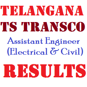 TS Transco Asst. Engineer AE Results 2015 Electrical and Civil