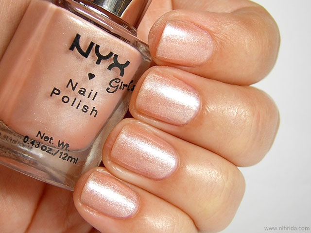 NYX Girls Nail Polish in Second Skin