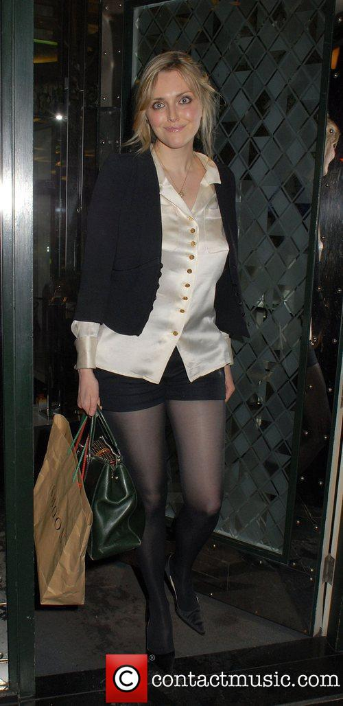 Sophie At The Christian Louboutin After Party At The Ivy In London On