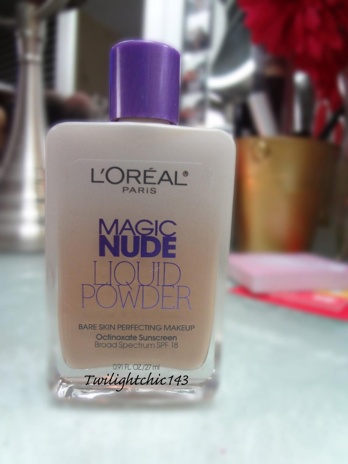 Loreal Magic Nude Liquid Powder - Daily Diary By Gabriela