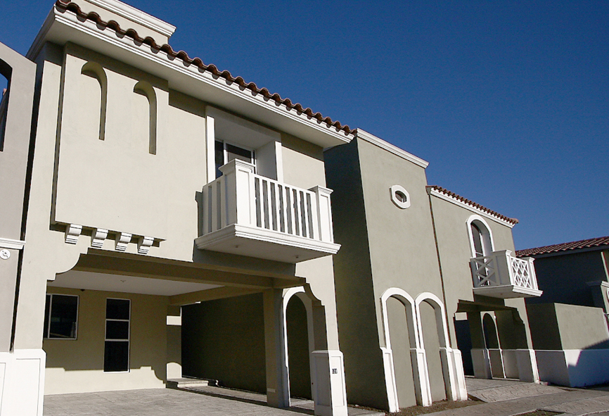 Fachadas mexicanas y estilo mexicano september 2012 for Fachadas de casas minimalistas con balcon