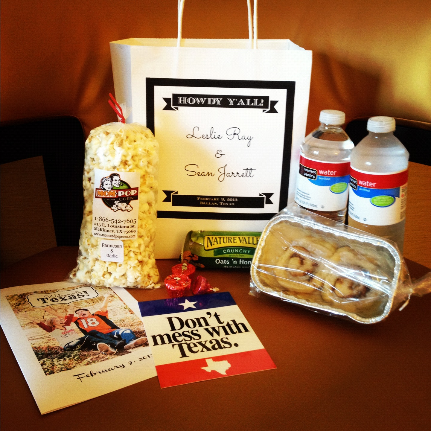 wonderfully made wedding hotel welcome bags