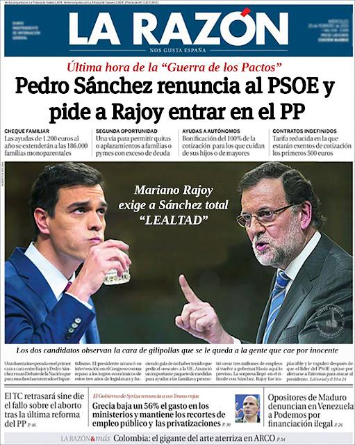 Humor Canalla Noticias Ultima Hora Pedro Sanchez