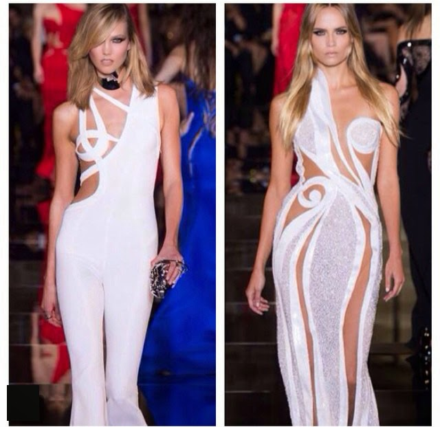 Versace spring summer couture 2015