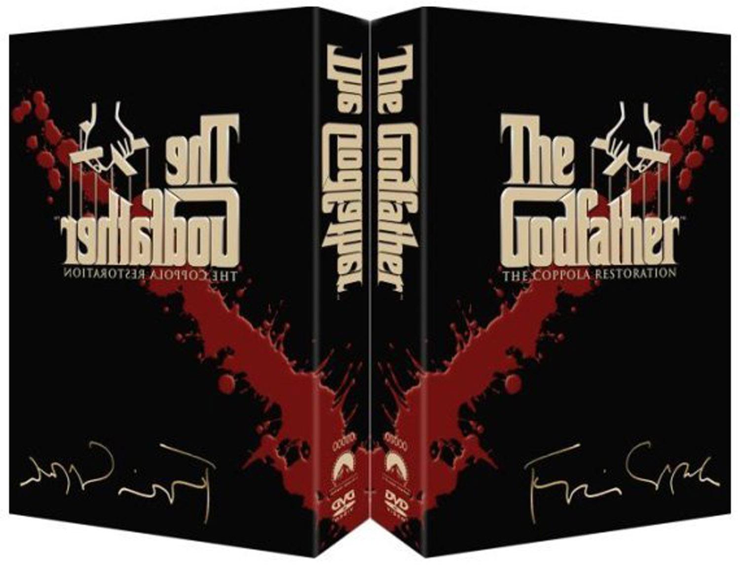 The Godfather1 DVD Case Box
