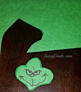 grinch craft for kids face