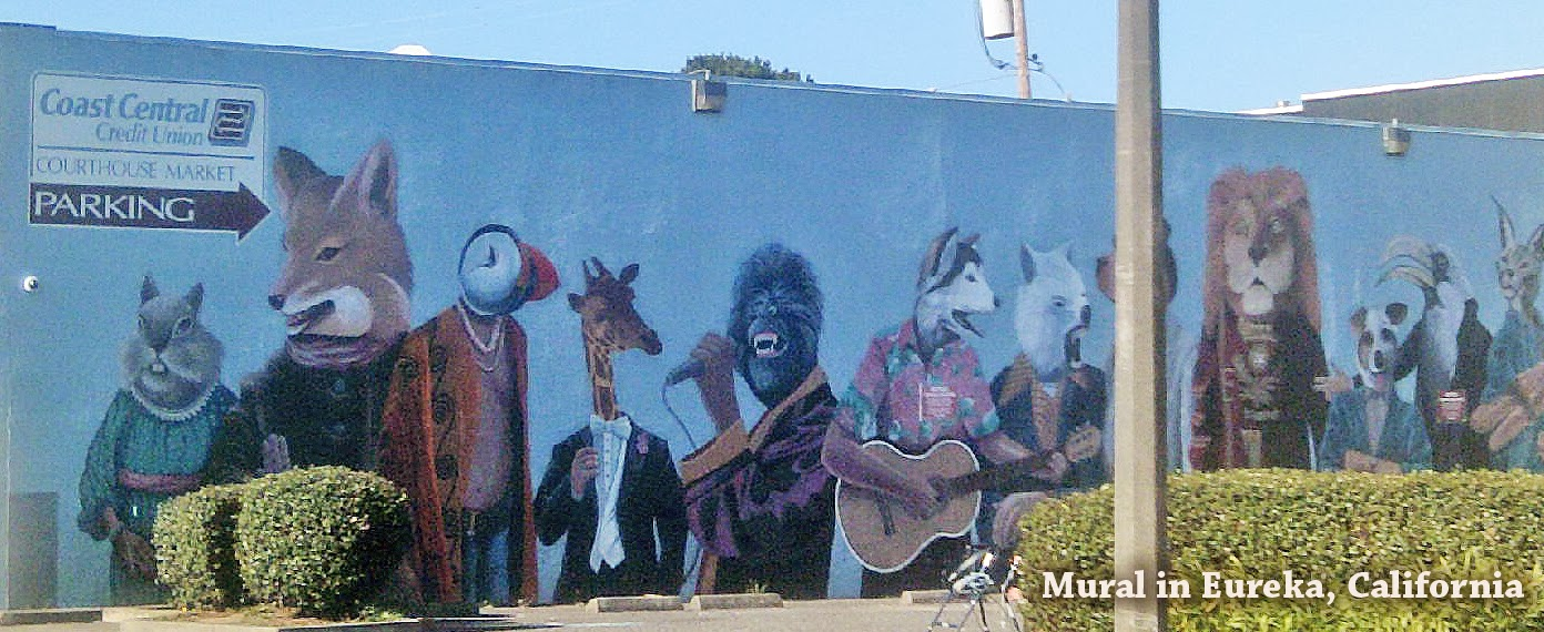 Tour northern california mural in eureka california for California mural