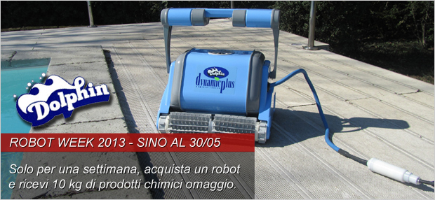 Robot week su laghetto shop piscine laghetto news blog for Pulizia fondo laghetto