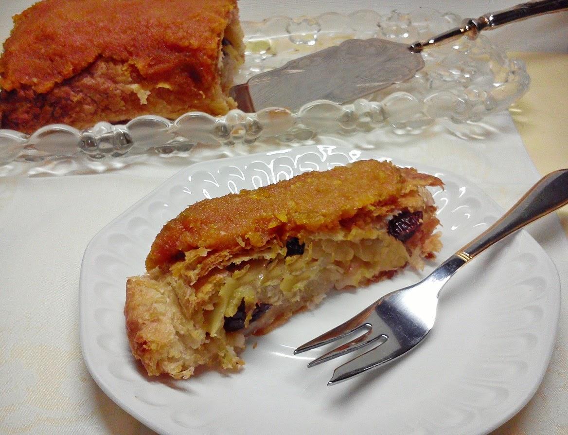Strudel Vegano de Manzana con Baño de NoYema