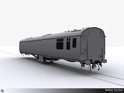 Fastline Simulation - Bullion Carriers: An in development render of the NWX Bullion Van from the saloon end.