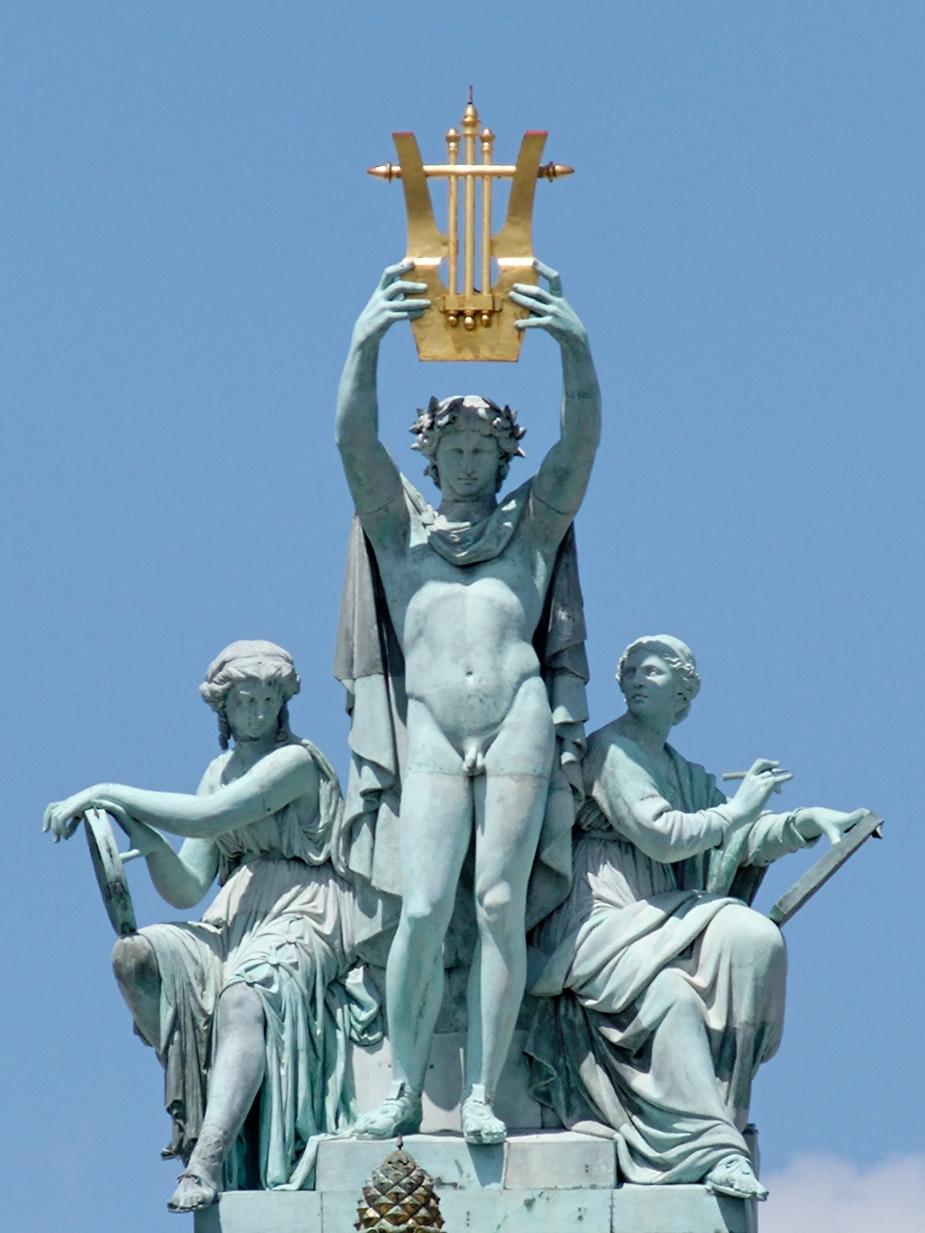 Apolo entre la Música y la Poesía. París