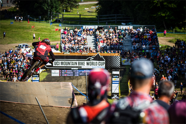2015 Mont Sainte Anne UCI World Cup Downhill: Josh Bryceland