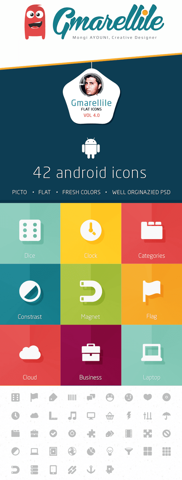 Gmarellile Flat Icons Vol4.0