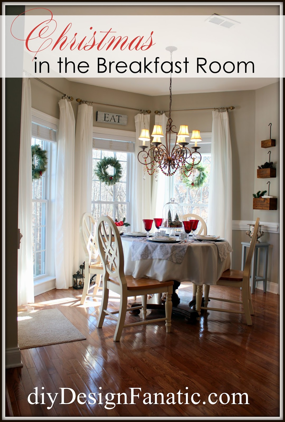 Christmas, Breakfast Room