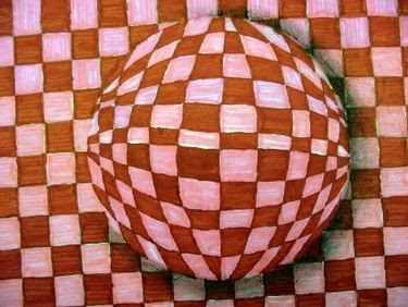 lesson plan op art spheres the easy way artful artsy amy