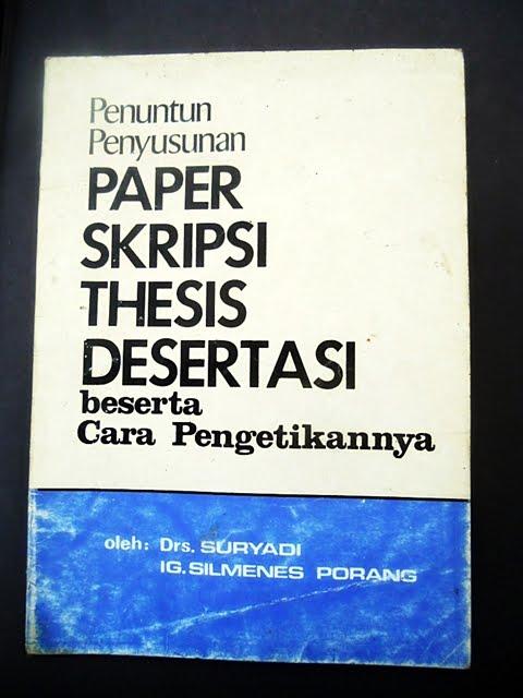 thesis disertasi