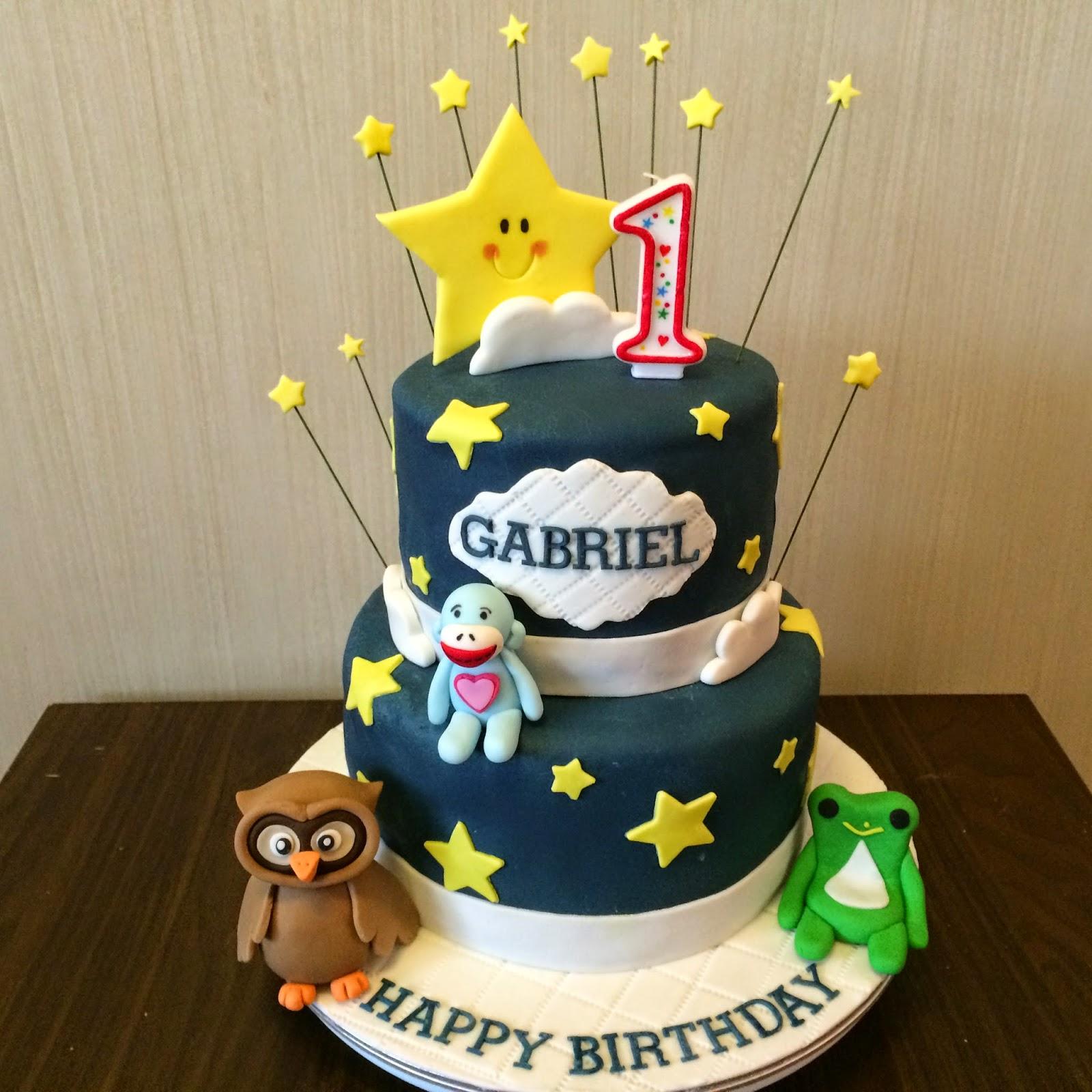 Owl Stars Cake Cupcakes Star Cake Pops Crissas Cake Corner