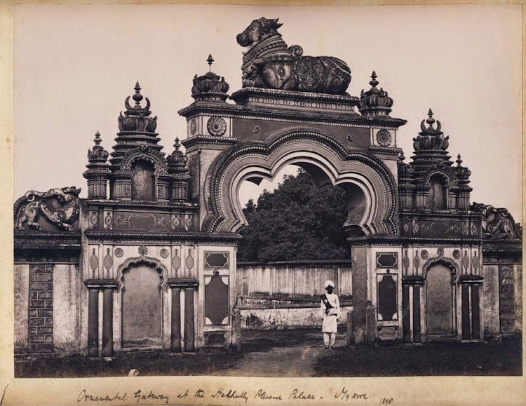 Ornamental Gateway of a  Palace - Mysore, Karnataka, 1895