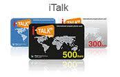บัตร iTalk โทรกลับไทยนาทีละ 45 สต