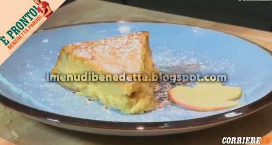 Torta di Mele al Cucchiaio con Purea di Benedetta Parodi