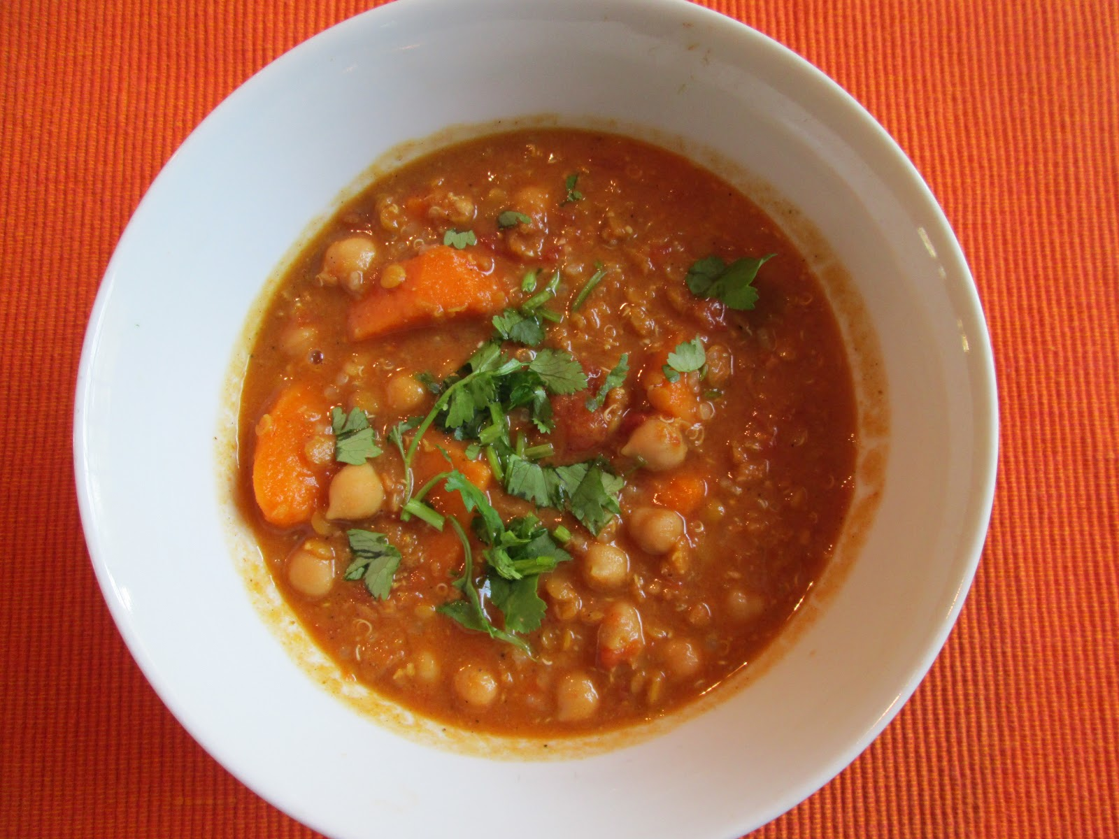 Spicy African Peanut Stew with Quinoa