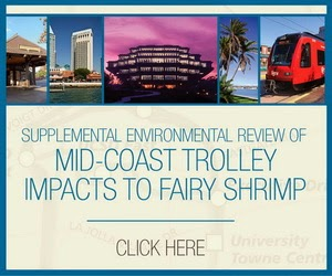 Mid-Coast Trolley Impacts to Fairy Shrimp