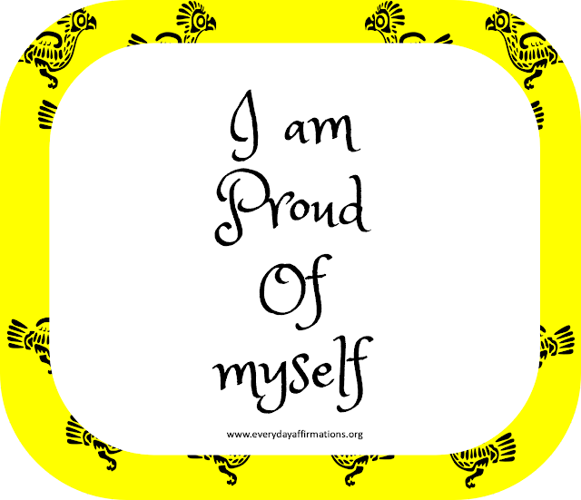 Daily Affirmations, Affirmations Poster, Affirmations for Kids