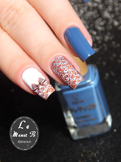 arabesco nail art
