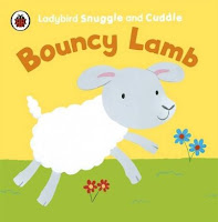 Bouncy Lamb Cuddle and Snuggle cloth book Ladybird