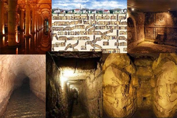 Ten Amazing Subterranean Structures from the Ancient World