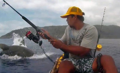 International fishing news 2013 04 for Kayak fishing hawaii