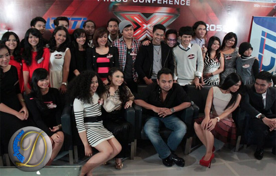 foto x factor indonesia twiter showcase x factor indonesia kontestan x