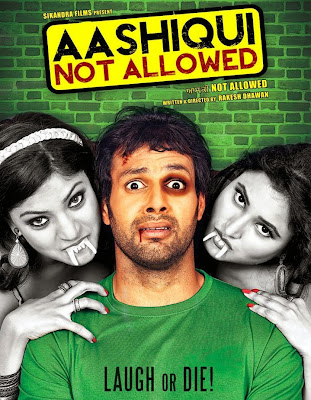 Poster Of Aashiqui Not Allowed (2011) In 300MB Compressed Size PC Movie Free Download At worldfree4u.com