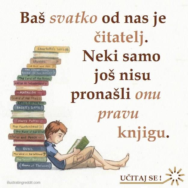 Svi smo mi čitatelji.