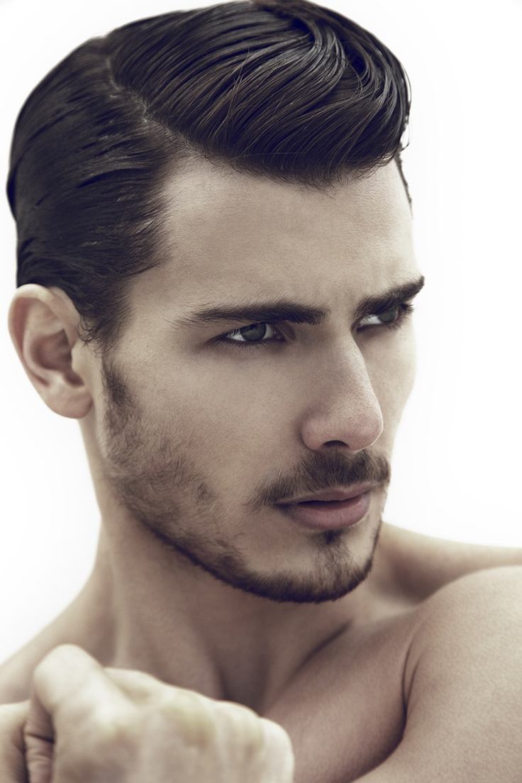 Men side parting hairstyles