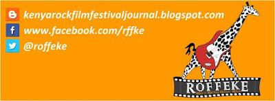 Kenya Rock Film Festival Journal